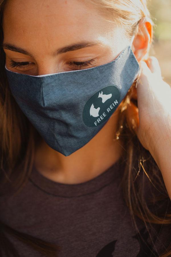 Free Rein Foundation Mask Blue
