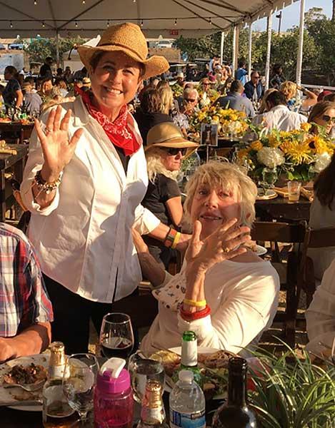 HB City Councilwoman Barbara Delgleize & HB Tree Society President Jean Nagy
