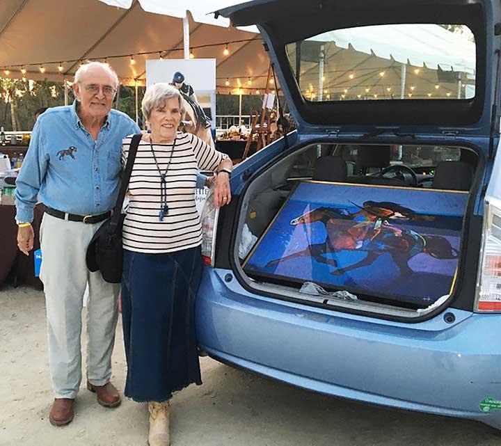 Bill Rothenberg & Linda Light win Nieto art
